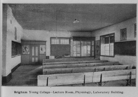 Lecture Room for Physiology in the Laboratory Building, BYC