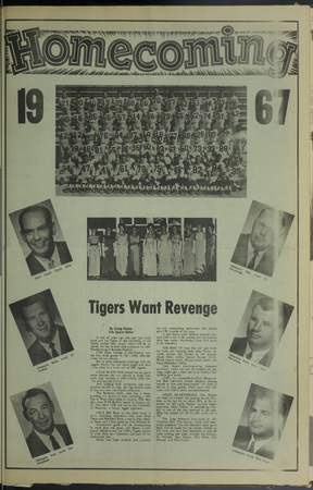"""A page from the """"Student Life"""" newspaper, November 11, 1967"""