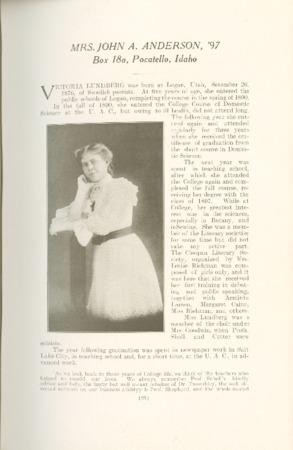 1909 A.C.U. Graduate Yearbook, Page 21