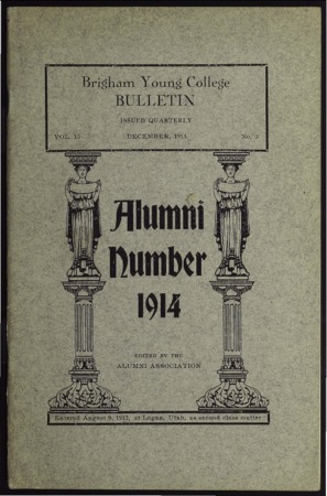 Brigham Young College Bulletin, December 1914