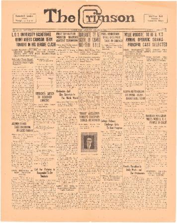 The Crimson, January 14, 1926