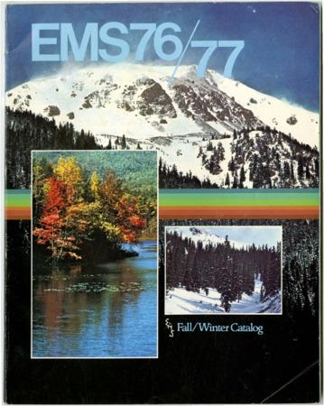 Eastern Mountain Sports, Inc. Fall/Winter 1976-1977