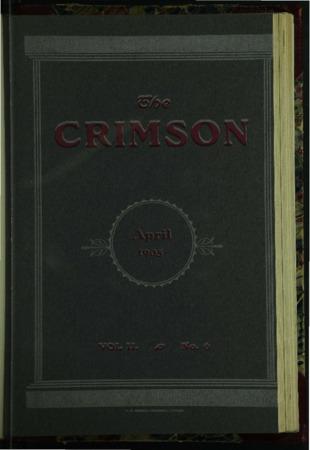 The Crimson, April 1905