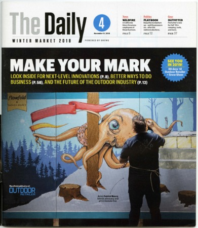 The Daily, Make Your Mark, Winter Market 2018