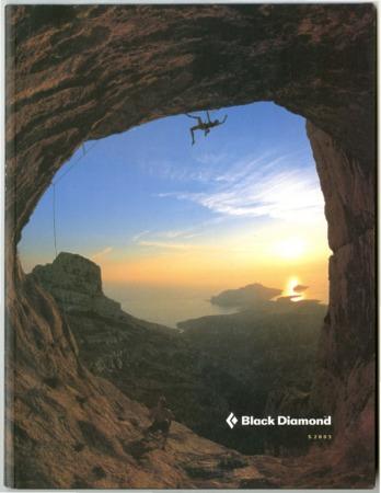 Black Diamond, 2003 rock climbing