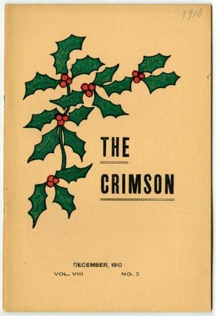 The Crimson, Commencement, December 1910