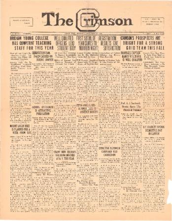 The Crimson, September 11, 1924