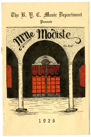 B.Y.C. Opera Co. presentation of 'M'lle Modiste'