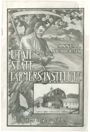 Sixth Annual Report of the Farmers Institute and Housekeepers Conference