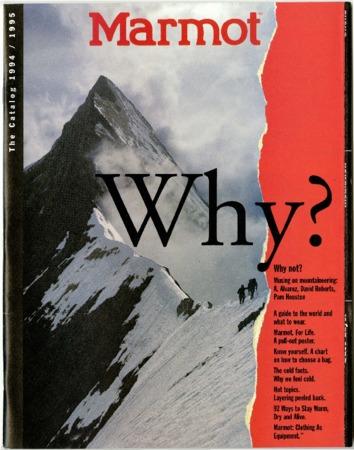 Marmot Mountain Works, 1994-1995