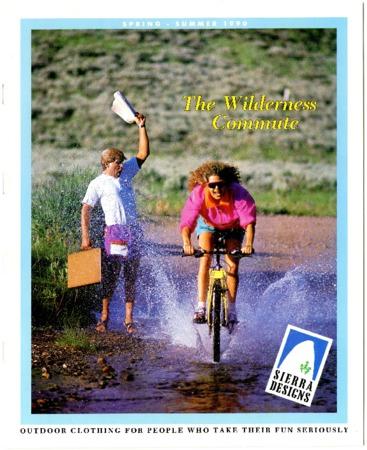 Sierra Designs, The Wilderness Commute, Spring/Summer 1990