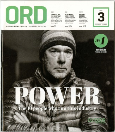Outdoor Retailer Daily, Power, 2017