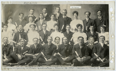 Brigham Young College graduates from 1905