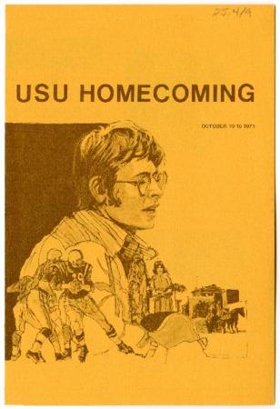 USU homecoming program, 1971