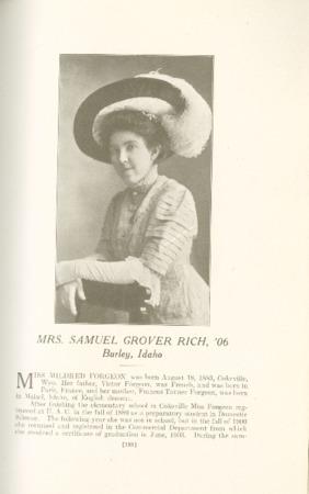 1909 A.C.U. Graduate Yearbook, Page 189