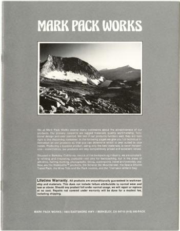 Mark Pack Works, 1984