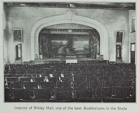 Interior of Nibley Hall