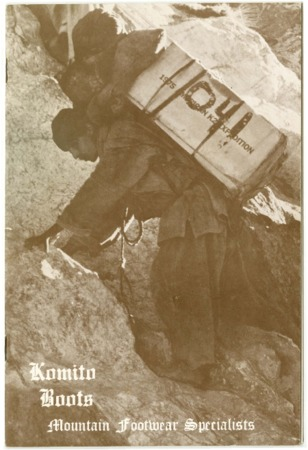 Komito Boots, Mountain Footwear Specialists, undated