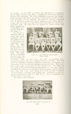1909 A.C.U. Graduate Yearbook, Page 166