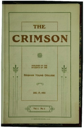 The Crimson, December 1903