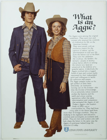 What is an Aggie poster, 1981
