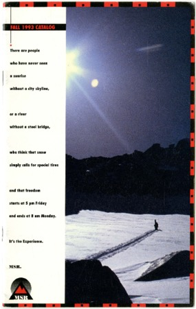 Mountain Safety Research, 1993