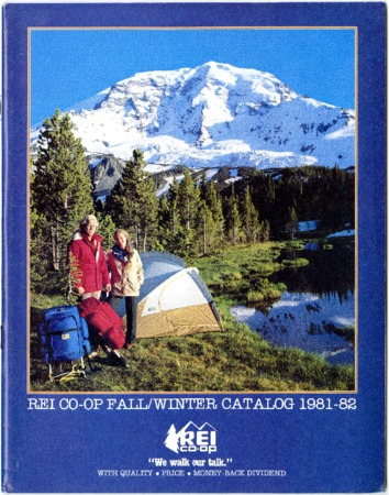 Recreational Equipment, Inc., Fall/Winter 1981-1982
