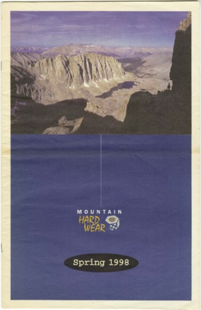 Mountain Hardwear, Spring 1998