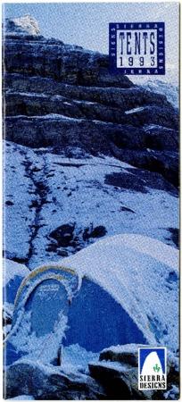 Sierra Designs, Tents, 1993
