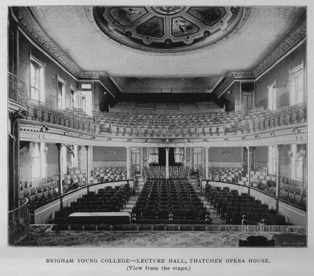 Thatcher Opera House - View from Stage