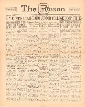 The Crimson, March 4, 1925