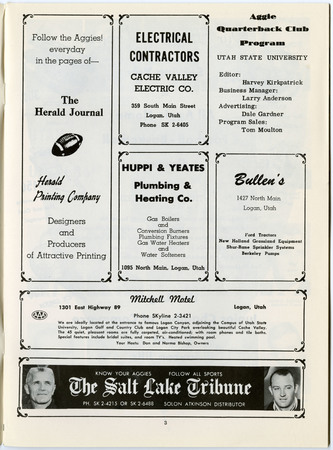 Local advertisements, 1964