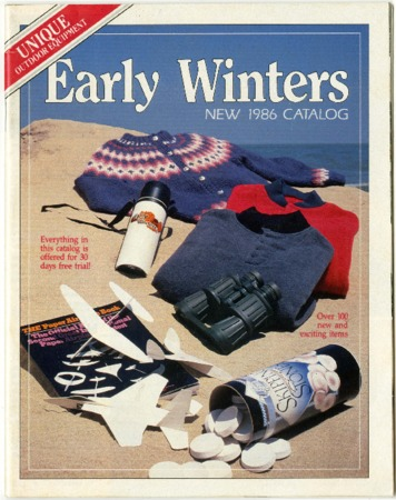 Early Winters, New 1986 Catalog
