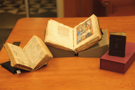 The Three Books of Hours held at Utah State University