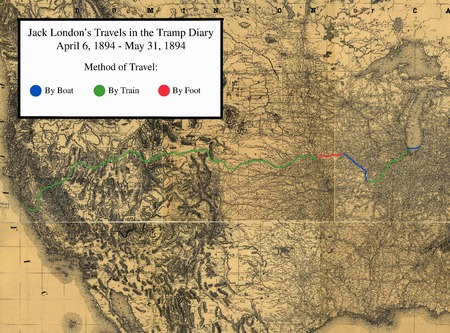 Jack London's Travels in the Tramp Diary