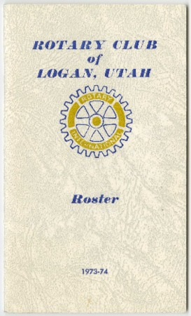 Rotary Club of Logan, Utah Roster, 1973-74