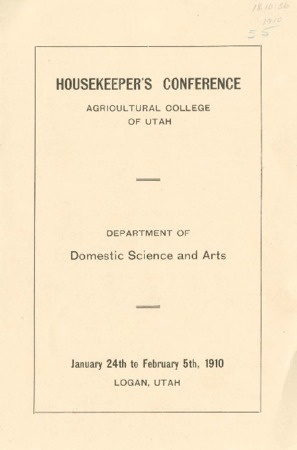 Housekeeper's Conference