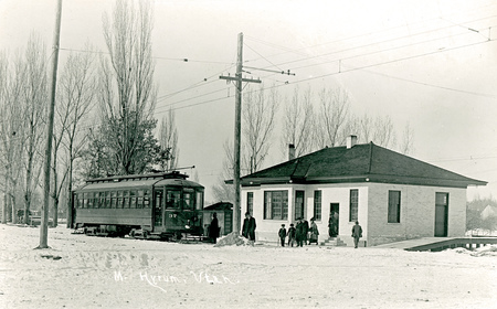 Special O.R.T. Train #37 at Mendon Station<br />