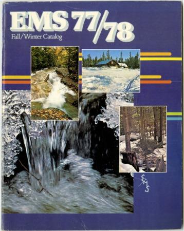 Eastern Mountain Sports, Inc. Fall/Winter 1977-1978