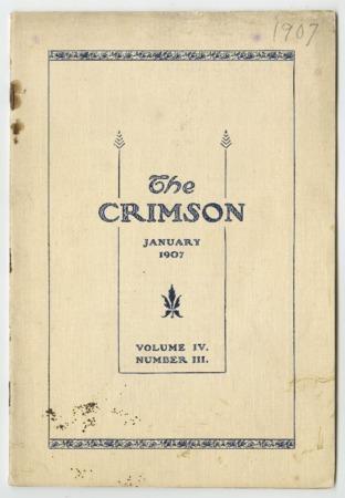 The Crimson, January 1907