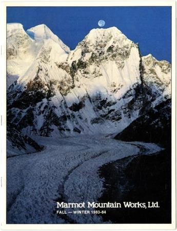 Marmot Mountain Works, Fall/Winter 1983-1984