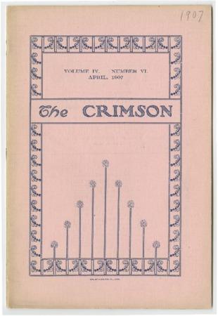 The Crimson, April 1907