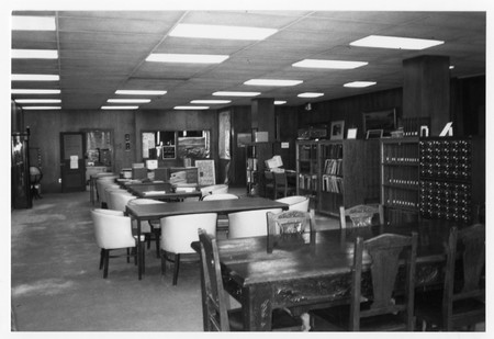 Interior of Special Collections, Merrill Library