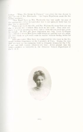 1909 A.C.U. Graduate Yearbook, Page 135
