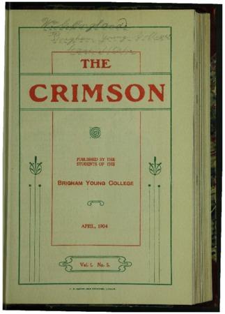 The Crimson, April 1904