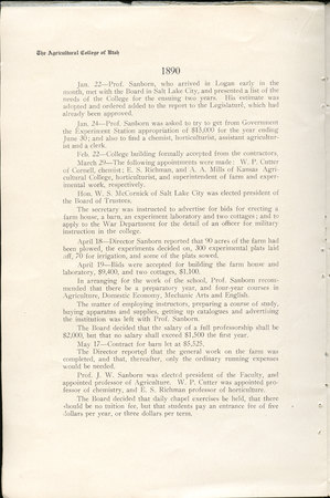 1908 UAC Commencement Program Page 10