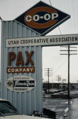 UCA/PAX Sign, Salt Lake City, Utah