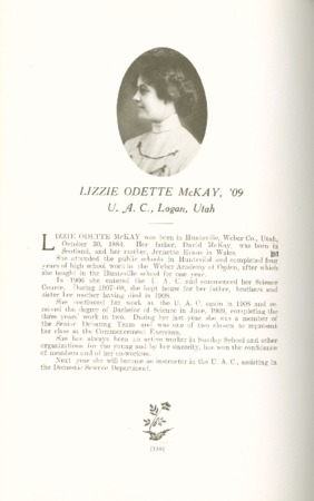 1909 A.C.U. Graduate Yearbook, Page 138