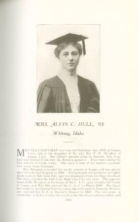 1909 A.C.U. Graduate Yearbook, Page 105