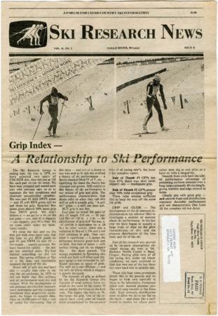 Ski Research News, 1983